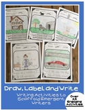 Early Writing Activities: Draw, Label, & Write
