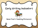 Early Writing Indicators