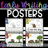 Early Writing Posters / Rate Your Writing Posters
