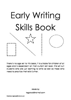Early Writing Skills - Handwriting Devlopment
