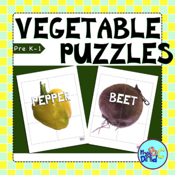 Healthy Living Vegetable Puzzles