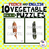 Vegetable-Légume PUZZLES for Kids | Delicious French and E