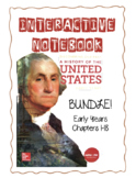 Early Years FULL YEAR BUNDLE! History of the US Interactiv
