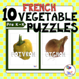 Légume PUZZLES for Kids | Delicious French Language Fun