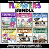 Flowers Activity BUNDLE: Early Years - Kindergarten (math,