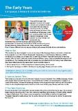 Early Years Language, Literacy & Motor Developmental Milestones
