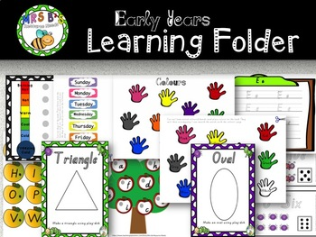 Early Years Learning Folder