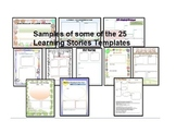 EYLF -Early Years Learning Framework Bundle-Learning Story and Complete template