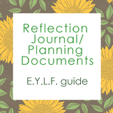 Reflection Journal + Planning Documents: Early Years Learn