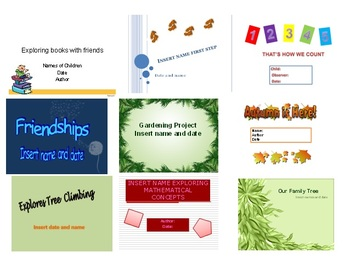 EYLF - Early Years Learning Framework - PowerPoint Learning Stories 1
