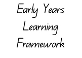 Early Years Learning Framework Summary