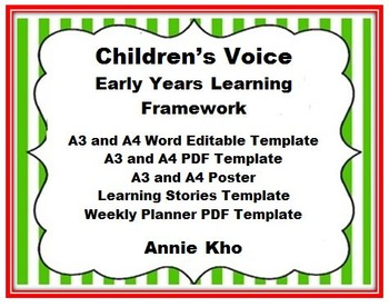 Early Years Learning Framework Children Voice