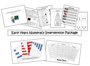 Early Years Numeracy Intervention Package (includes Math Center Games)