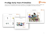 Early Years Printables