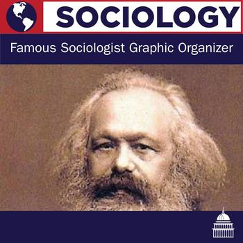 Famous Sociologists Graphic Organizer