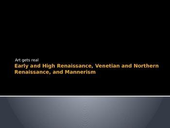 Art History: Early and High Renaissance, Northern Renaissa