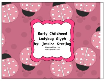Early childhood Ladybug Glyph with craft