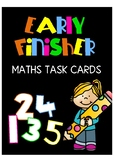 Early finisher - Math Task Cards