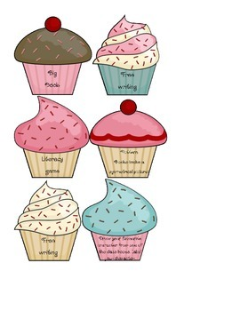 Early finisher - cupcake cards