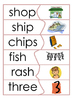Early phonics self correcting reading puzzle