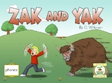 Early reader Zak and Yak - Reading Sprouts - Level 1 Begin