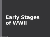 Early stages of WWII