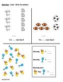 Earlybird Kindergarten Mathematics Assessments - Book B
