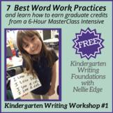Earn 3 Graduate Credits: 7 FREE Favorite Writing Practicum