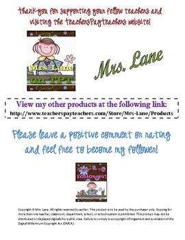 Earn & Return Reward Punch Card for Students! (With Monkey Theme!)