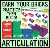 Earn Your Bricks Artic! FREEBIE English and Spanish (Español)
