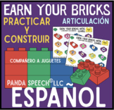 Earn Your Bricks Español! A Speech Therapy Toy Companion