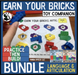 Earn Your Bricks Toy Companion BUNDLE: A Speech Therapy Activity