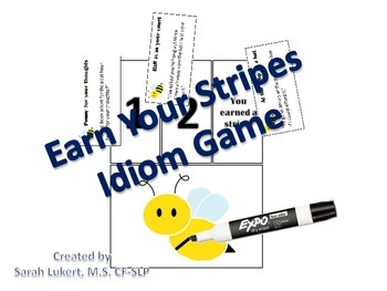 Earn Your Stripes - Idiom Game
