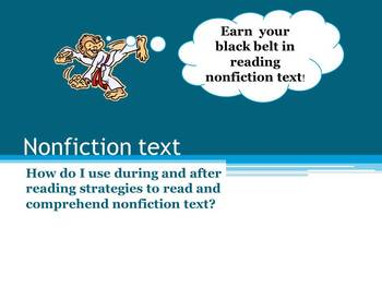 Earn a Black Belt in Nonfiction Text Features