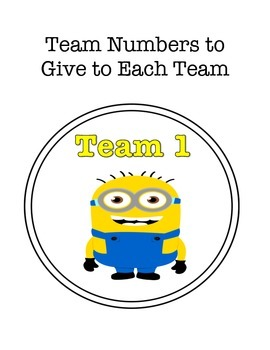 Earn a Minion Team Points Classroom Management System
