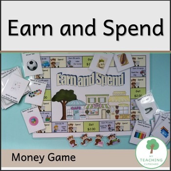 Earn and Spend Maths Australian Money Game