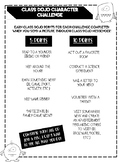 "Earn Class Dojo points with the ""Class Dojo Character Challenge""!"