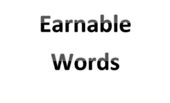 Earnable Words