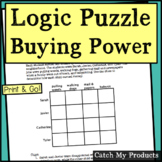 Logic Puzzle for 1st Grade