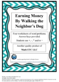 Earning Money By Walking the Neighbor's Dog