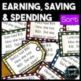 Earning, Saving & Spending Sort