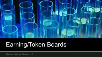 Earning/Token Board