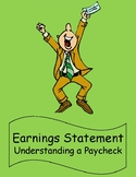 Consumer Math Earnings Statement - Understanding a Paychec