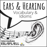 Ears, Hearing & Sound: Body Vocabulary and Idioms, Interme