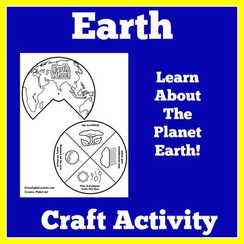 Planet Earth Activity | Earth Craft | Earth Activity