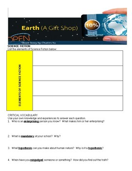 Earth (A Gift Shop) Comprehensive Study Guide