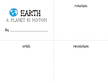 Earth - A Planet in Motion Book