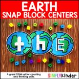 Earth Alphabet Snap Block Center