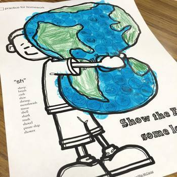 Articulation Dot Art for Earth Day {No Prep!}