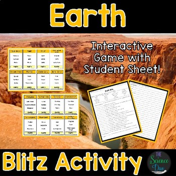 Earth Blitz Activity
